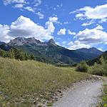 Vallée de l'Ubaye par  - Crevoux 05200 Hautes-Alpes Provence France
