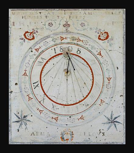 Cadran solaire à Fouillouse par oliviervallouise
