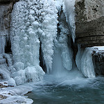 Gorges de la Meouge glacées - Winter in Provence -  par xalub33 - Chateauneuf de Chabre 05300 Hautes-Alpes Provence France