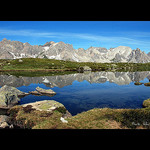 Haute vallée de la Clarée - Le lac Laramon by Alain Cachat - Névache 05100 Hautes-Alpes Provence France