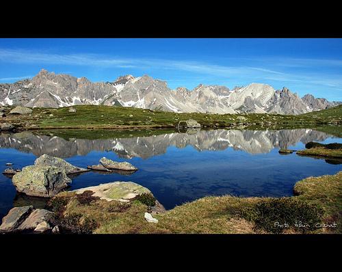 Haute vallée de la Clarée - Le lac Laramon par Alain Cachat
