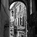 Façades dans le centre ville de Serres par CTfoto2013 - Serres 05700 Hautes-Alpes Provence France