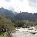 Le lit du Buëch : rivière du sud de la France par  - St. Julien-en-Beauchene 05140 Hautes-Alpes Provence France