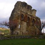 Ruines du prieuré de Saint-André-de-Rosans par fgenoher - St. Andre de Rosans 05150 Hautes-Alpes Provence France