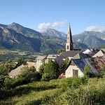 Saint Léger les Mélèzes par  - Saint Léger les Mélèzes 05260 Hautes-Alpes Provence France