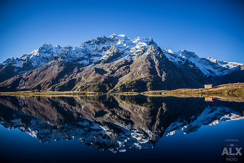Mirroir du Lac du Pontet by Alxmtp13
