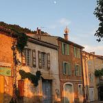 Mondaufgang über Aiguines am Lac de St. Croix by CME NOW - Aiguines 83630 Var Provence France
