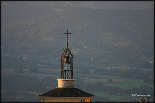 Verdon : campanile d'Aiguines by Rhansenne.photos