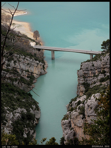 Le Verdon : lac de Sainte Croix by Sylvia Andreu