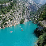 Eau turquoise - Gorge du Verdon par Mattia Camellini - Aiguines 83630 Var Provence France