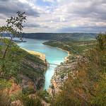 Arrivée sur le lac de Sainte Croix - Verdon par ChrisEdwards0 - Aiguines 83630 Var Provence France