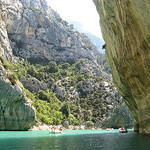Entrance to the gorge du verdon par myvalleylil1 - Aiguines 83630 Var Provence France