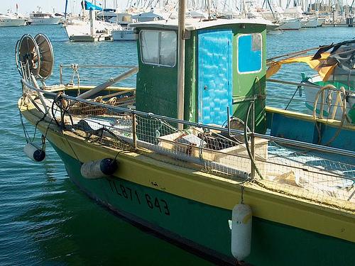 Bateau de pêche par Elisabeth85