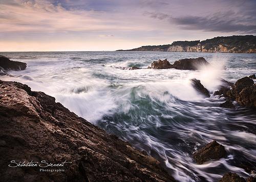 vagues avant l'impact by Sébastien Sirvent Photographie