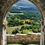 View from Bargeme Castle - Provence par Clockographer - Bargème 83840 Var Provence France
