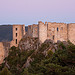 Bargème castle at twilight by  - Bargème 83840 Var Provence France