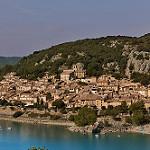 Le calme de Bauduen devant le lac par  - Bauduen 83630 Var Provence France