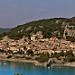 Le calme de Bauduen devant le lac par Matiou83 - Bauduen 83630 Var Provence France