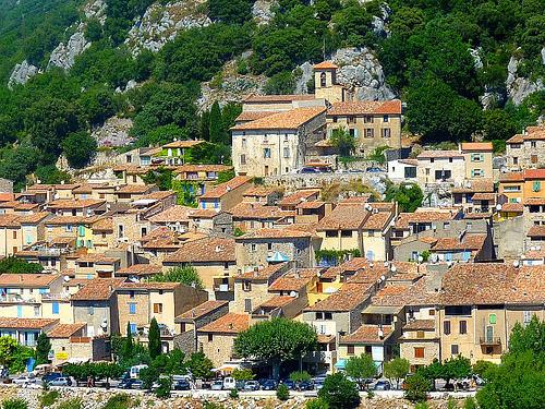 Les toits du Village de Bauduen par nic( o )