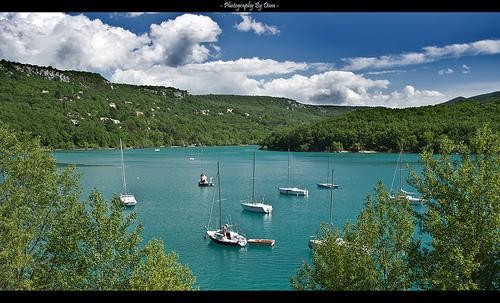 Lac de Ste Croix by DamDuSud