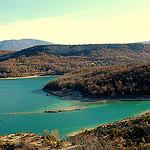 Lac de Sainte Croix vers Bauduen par nevada38 - Bauduen 83630 Var Provence France