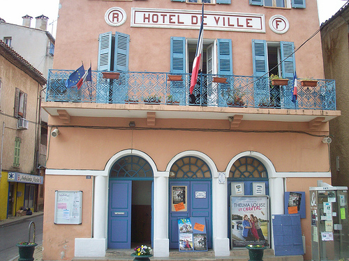 Htel de Ville. Besse-sur-Issole, Var. by Only Tradition