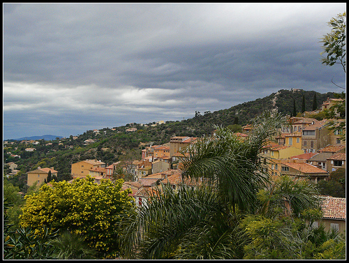Vue sur Bormes les Mimosas by myvalleylil1