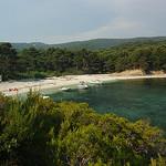 Plage pas loin de Brégançon by chris wright - hull -   Var Provence France