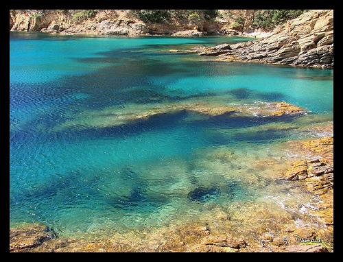 Eau turquoise paradisiaque - Var - Cavalaire by g_dubois_fr