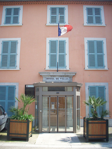 Hôtel de Ville, Cuers, Var. by Only Tradition