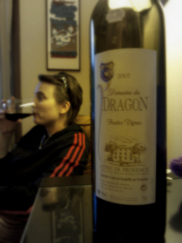 A taste of Provence - Domaine du Dragon by Lukinosity