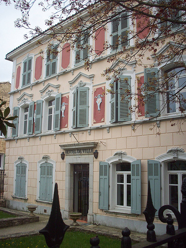 Hôtel de Ville, Forcalqueiret, Var. by Only Tradition
