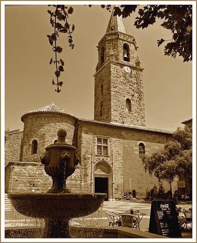 Cathédrale St Léonce de Fréjus par .Sissi