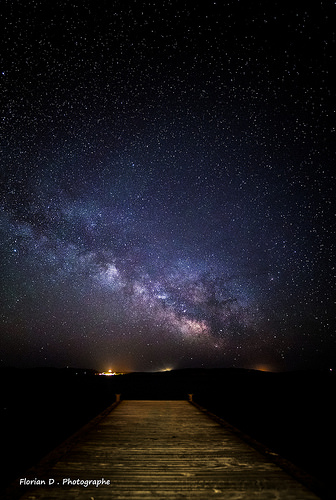 The dock of the Milky Way par Florian D. Photographe