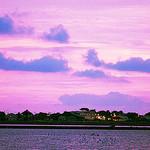 Ciel violet de Giens by Macré stéphane - Giens 83400 Var Provence France