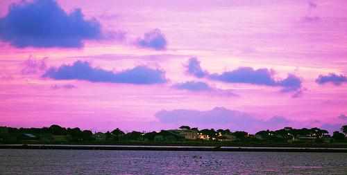 Ciel violet de Giens by Macré stéphane