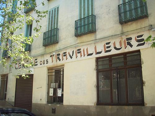 Cercle des Travailleurs. Place de l'Hôtel de Ville, Gonfaron, Var. par Only Tradition