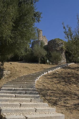 Marches vers le château par cpqs