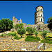 Grimaud Castle Ruins by Belles Images by Sandra A. - Grimaud 83310 Var Provence France