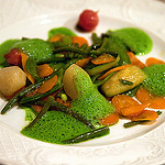Provencal vegetable stew - Les Santons, Grimaud by Belles Images by Sandra A. - Grimaud 83310 Var Provence France