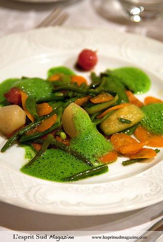Provencal vegetable stew - Les Santons, Grimaud par Belles Images by Sandra A.
