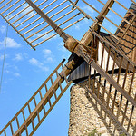 Les ailes du moulin de Grimaud par Charlottess - Grimaud 83310 Var Provence France