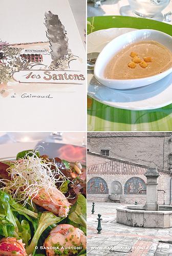 Restaurant Les Santons (Grimaud) by Belles Images by Sandra A.