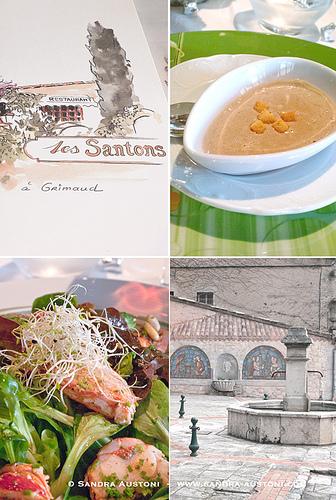 Restaurant Les Santons (Grimaud) by Belles Images by Sandra A.