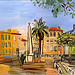 Raoul Dufy (1877-1953). La place d'Hyres. Hyres, Var. par  - Hyres 83400 Var Provence France