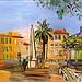 Raoul Dufy (1877-1953). La place d'Hyères. Hyères, Var. par Only Tradition - Hyères 83400 Var Provence France