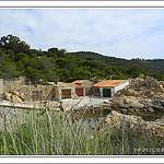 Cabanes de pécheurs à la page de l'escalet par PUIGSERVER JEAN PIERRE - Ramatuelle 83350 Var Provence France