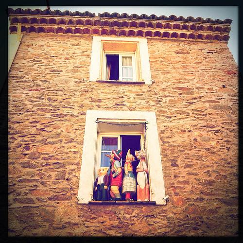 Facade et fenêtre atypiques par maybeairline