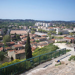 Vue sur La Garde, depuis le Rocher. Table d'orientation. La Garde, Var. par Only Tradition - La Garde 83130 Var Provence France