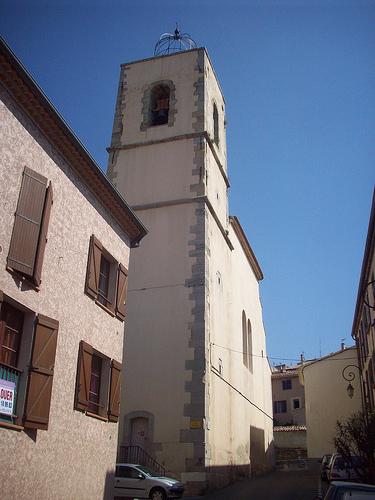 Clocher de l'église de la Nativité. La Garde, Var. by Only Tradition
